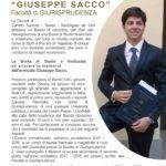 BANDO BORSA DI STUDIO GIUSEPPE SACCO
